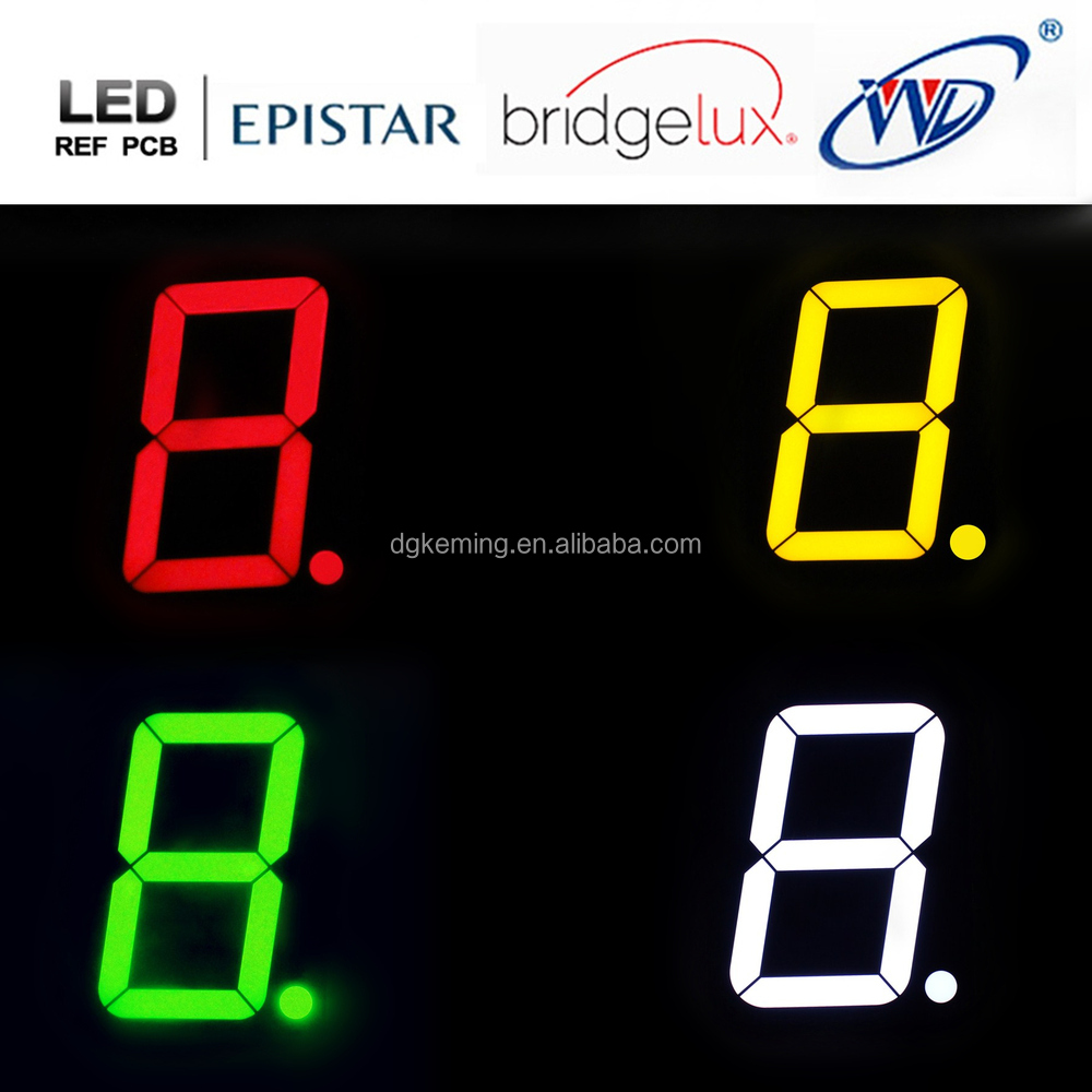 High Red 4 Inch 7 Segment Display 100mm Led Seven In The Circuit Above Using Commond Anode Type 40011 4colors 1