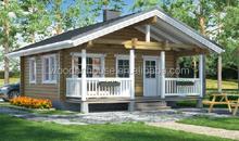 Beautiful prefabricated wooden house