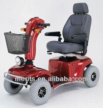 S341 friendly 4 wheel electric elderly adult kids scooter