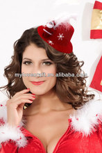 MYLOVE Big feather snowman hat fascinator hats MLXM066
