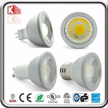 Rick-bottom prices UL high quality 12v mr 16 cob 5w auto led spot light