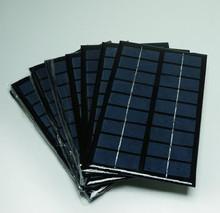 55*55mm 2V 0.4W frameless solar panel for toys