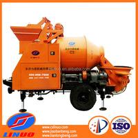 Linuo C3 concrete mixer self loading, trailer mounted concrete mixer, towable concrete mixer for sale