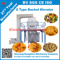 vertical Z type Bucket elevator for packing machine from gold supplier