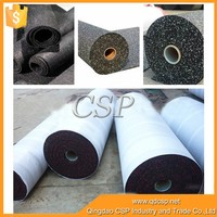 High quality cheap absorb noise rubber made product gym rubber flooring,rubber floor mat for playground