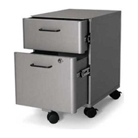Best selling steel movable cabinet office furniture electric moving file store box stainless steel trolley with drawers