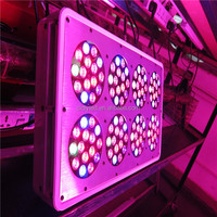 Hot sale full spectrum aeroponic grow system LED grow lights 120pcs X3w for indoor hydroponics