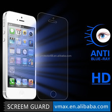 Anti uv anti blue ray screen ward for iphone 6 full cover screen protector tempered glass