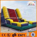 top qualidade inflável usado terno de velcro na parede para venda