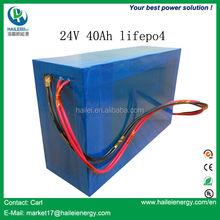 Best China manufacturer lifepo4 battery 24v 40ah