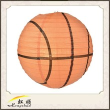 """14"""" basketball making handmade animal paper lanterns"""
