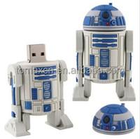 USB3.0 robot USB flash drive 8G 16G 32G 64G war pen drive
