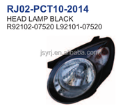 kia picanto 2010 head lamp black OEM R92102-07520 L92101-07520