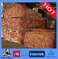 99.9% best quality Copper wire scrap