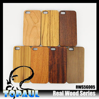 New Style PC+Wood back housing Cover Phone Case For iphone 5c