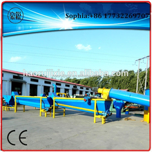 2015 waste plastic recycling PP PE PET film bags bottle washing line