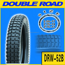 China professional manufacturer tires motorcycle 110 / 90 - 16