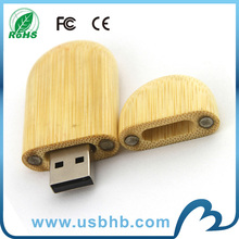new product free sample bamboo useflash drive