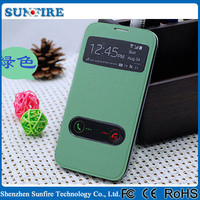 for samsung galaxy s3 window view smart case, flip cover case for Samsung Galaxy S3