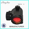 Minghao red dot reflex sight t1 air soft military gun rifle scope mount