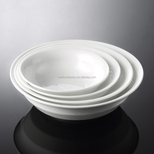 2015 New Design Ceramic bowl , White Round Porcelain Salad Bowl from Chaozhou ,6inch~9inch for Hotel&Restaurant