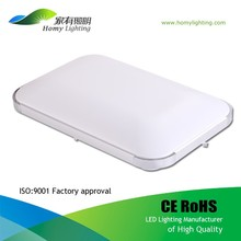 45W Square Mount Ceiling LED Light for Bedroom, Ra>75, White & Warm White