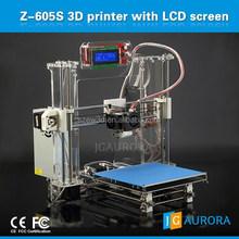 LCD operating touch display impresora 3d, home use DIY digital desktop 3D printer