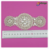 wholesale sew on bridal fashion rhinestone applique acrylic accessories for ladies