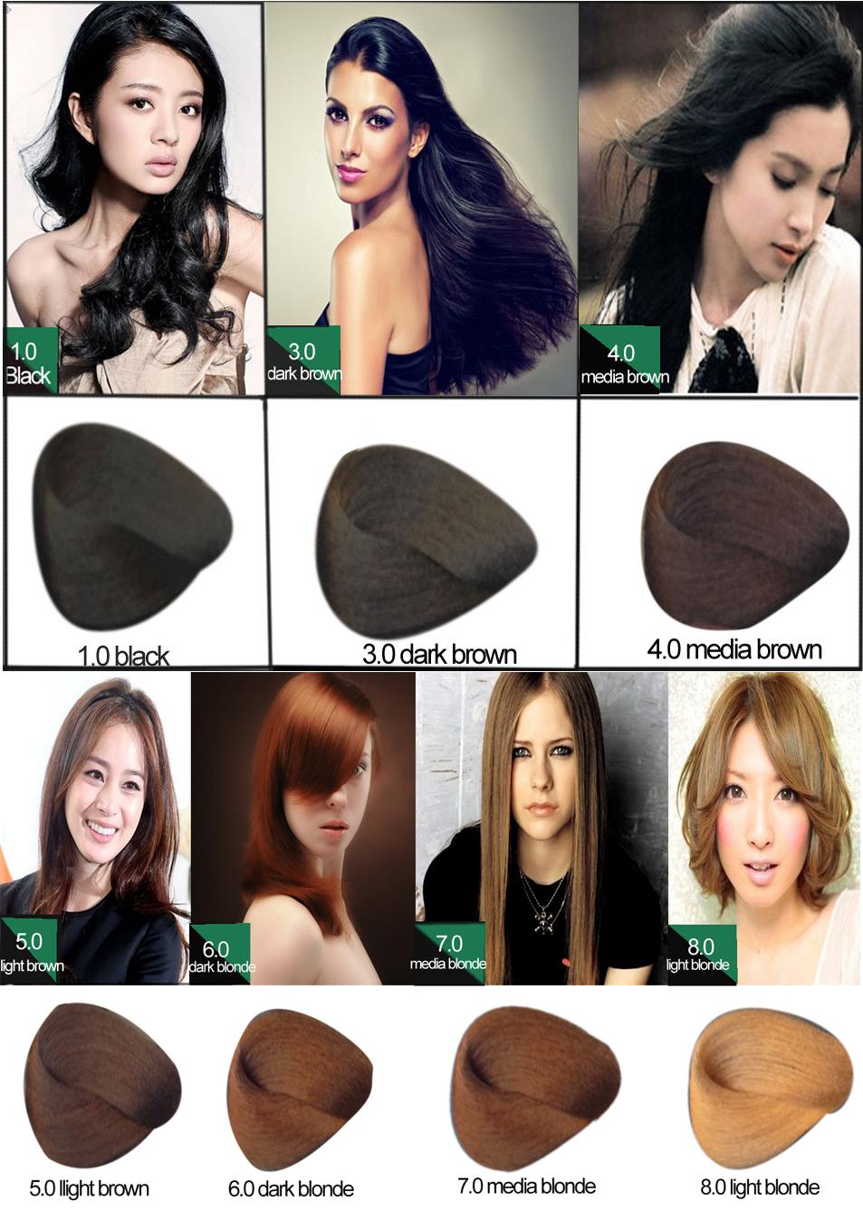 Classic brand lumina permanent ammonia free hair color wholesale 1080g solutioingenieria Images