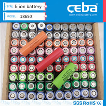 China manufacturer rechargeable battery 18650 li ion battery