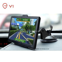 2015 Wholesale Checkout 7 inch motor gps navigation with 800MHz CPU 4GB Memory