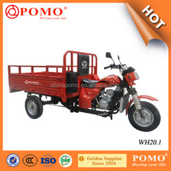 China Made Popular Strong Water Cooled Gasoline Cargo 200cc Tricycle
