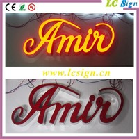 High quality acrylic double sided outdoor led open sign