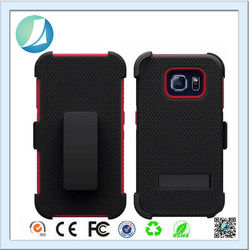 Chinese Supplier Plastic Silicon Combo Cell Phone Case For Samsung S6 Edge