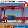 Moblie Rubber Tyre Gantry Crane, RTG Tire Crane with Special Design Spreader 30.5t/35t/40.5t