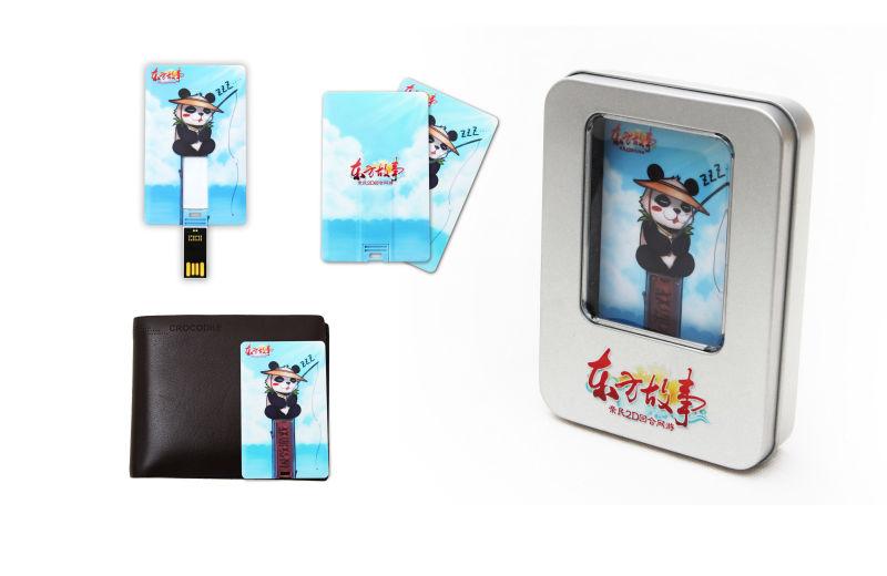 Customized LOGO Creative business card usb flash drive