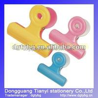 Color Binder clip paper binder clips plastic binder clip