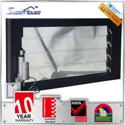 superhouse 10years warranty glass blades aluminum window louver frames with Australia AS2047 standard