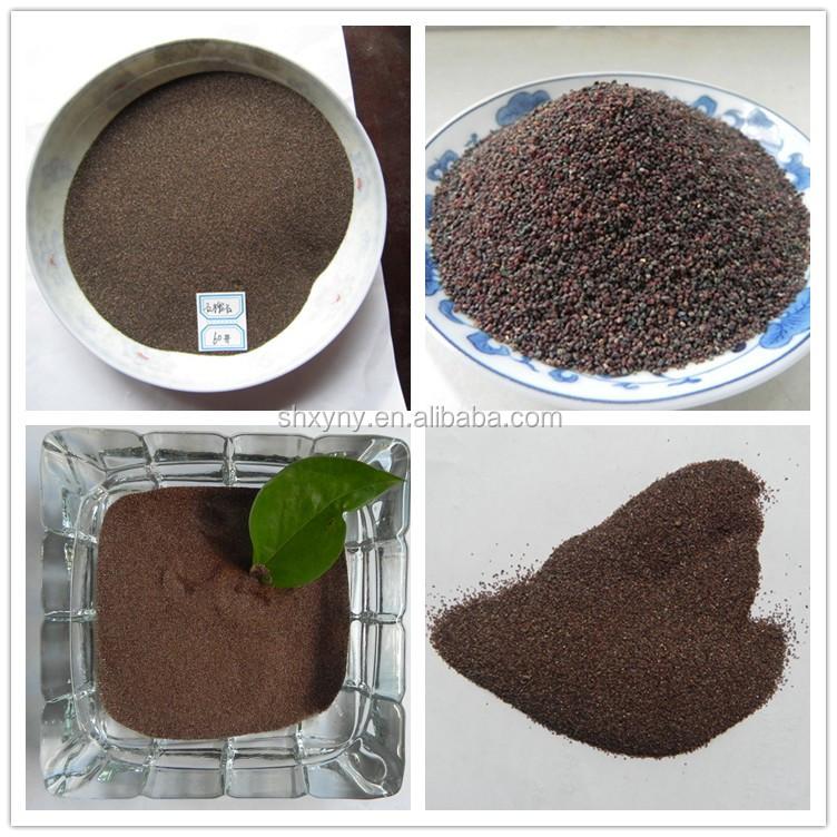 China amplifying suppliers garnet sand blasting 30/60 abrasive blasting garnet sand 20/40 mesh