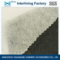 Qualified Nylon&Polyester nonwoven fusing interlining fabric(8025)