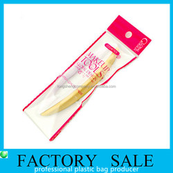CPP zip lock hanging bag for cosmetic nail granding trimmer