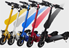 2015 hot sale electric scooters powerful 350 watts