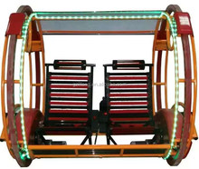 Amusement park carnival rides pleasant kids electric swing machine
