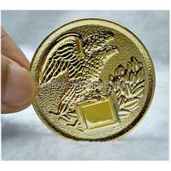 smal size resin eagle medal for saling