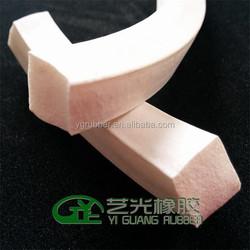 silicone foam insulation strips