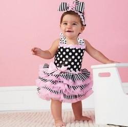 2014 summer girls princess dress Pink Ruffle Sundress Fashion Baby Dress Tutu dresses 20092