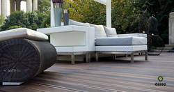 100% recyclable outdoor use WPC/hardwood/teak/bamboo outdoor flooring