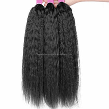 Brazilian virgin hair bundle 7A beauty afro kinky straight hair weave,100 grams/piece100% real human hair weaves free ship