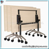 (SP-FT406) Wholesale foldable rectangle steel office table