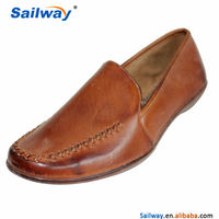 PU leather formal shoes handmade mens shoes